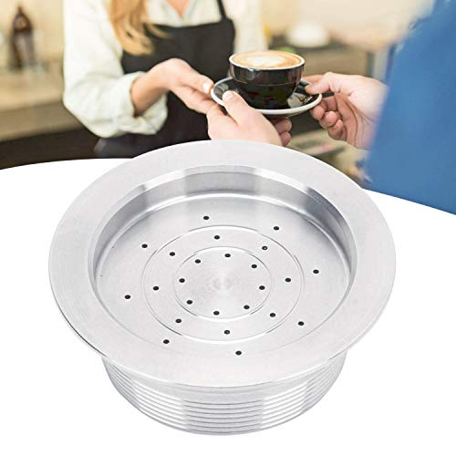Cápsula de café Cápsula de café reutilizable de acero inoxidable Kit de cepillo de cuchara Juego de repuesto Cápsulas de...
