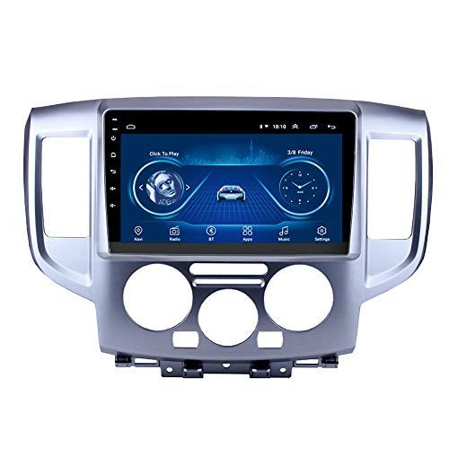 Kilcvt 9 Pulgadas IPS 2.5D Android 10 Unidad Principal Radio De Coche EstéReo WiFi GPS Reproductor Multimedia, para NV200 2014-2018 Soporte Control del Volante/TV/DVD/Bluetooth,WiFi: 2 32g