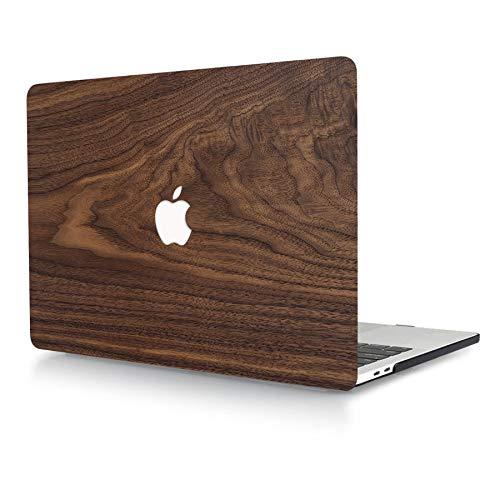 ACJYX Custodia per MacBook PRO 13 Pollici 2020 2019 2018 2017 2016 Versione A2289 A2251 A2159 A1989 A1708 A1706 Guscio Protettivo Plastica Liscia con Laptop per MacBook PRO 13', Venatura del Legno