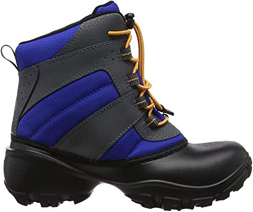 Columbia Unisex Kinder Rope Tow Iii Waterproof Trekking Wanderstiefel, Blau Orange Azul Orange Blast, 36 EU