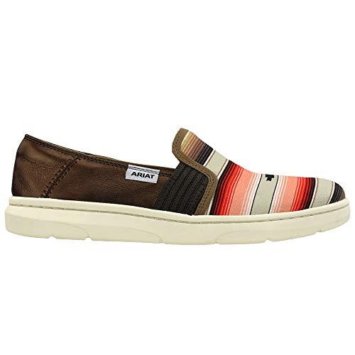 Ariat Ladies Ryder Slip-On Shoe 9 Burgundy