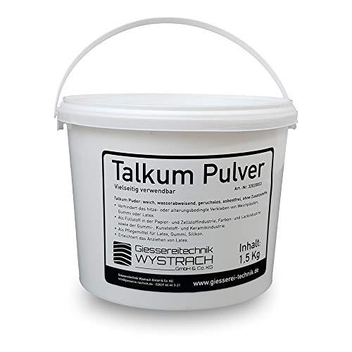 GTW Talkum Puder 1,5 kg Ohne Zusatzstoffe