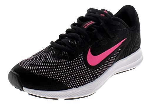 Nike Unisex Downshifter 9 Grade School Running Shoe Black/Hyper Pink-White 6.5Y Regular US Big Kid