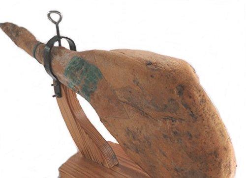 【後足約7キロ・台・ナイフ付き】「24ヶ月熟成」ハモンセラーノ・グランレセルバ 原木後足生ハムカッティングセット