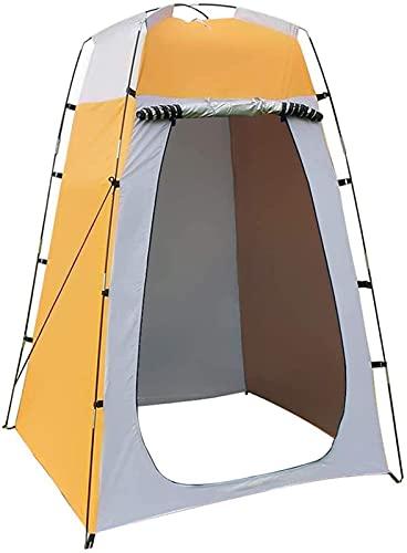 MWKL Carpa para baño emergente Carpa de privacidad para Ducha de Camping con Ventana, Inodoro portátil Impermeable, toldo de Refugio para vestidor de Playa, Mochila para bebé al Aire Libre