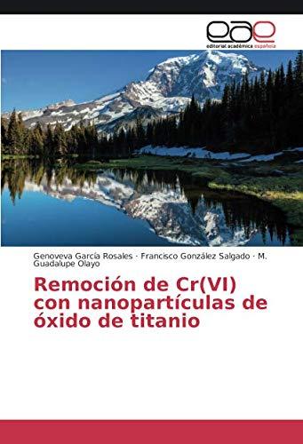 Remoción de Cr(VI) con nanopartículas de óxido de titanio