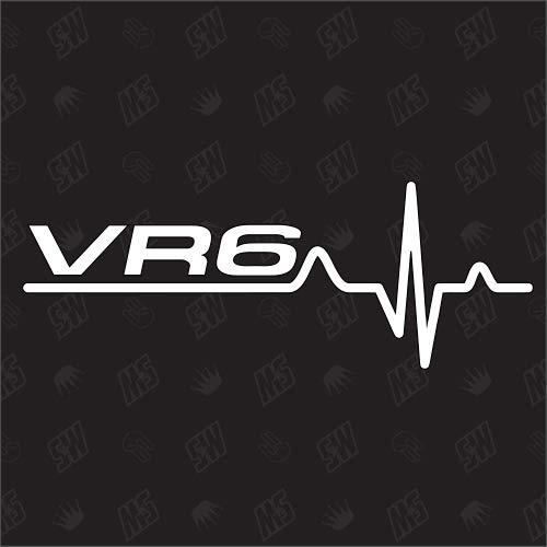 speedwerk-motorwear VR6 - Pegatina para VW