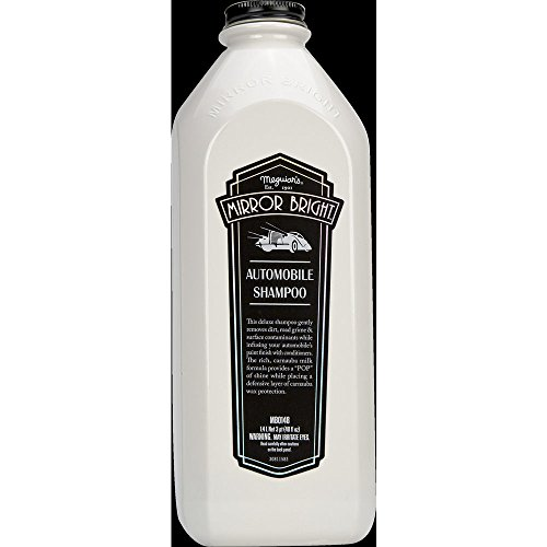 Meguiar's MB0148 Mirror Bright Automobile Shampoo, 48 oz. by Meguiar's