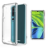Moozy Shock Proof Silicone Case for Xiaomi Mi Note 10,