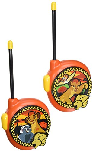 Lion Guard Short Range Walkie Talkies Playset