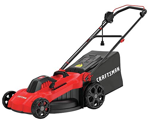CRAFTSMAN Electric Lawn Mower, 20-Inch, Corded, 13-Ah (CMEMW213)