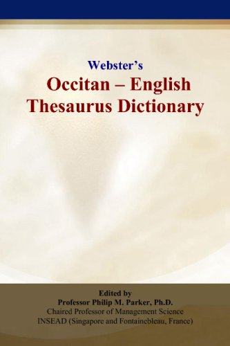 Webster's Occitan - English Thesaurus Dictionary