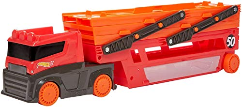 Hot Wheels Hw Mega Red Hauler 50th 11 F (Mattel GHR48)