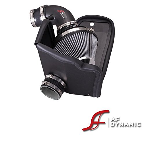 AF Dynamic Black Air Filter Intake Systems with Heat Shield 2012-2015 For Civic 1.8L 4cyl