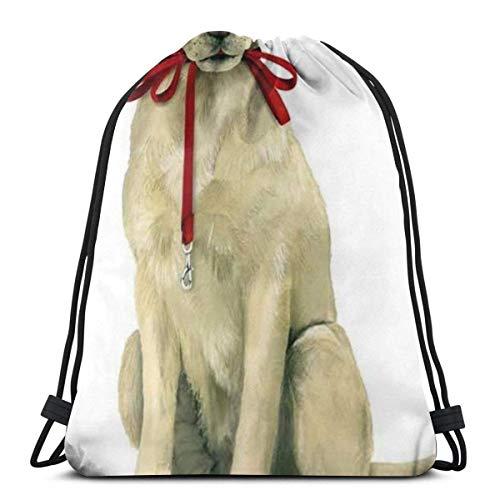 Labrador Lab Lover Dog Drawstring Bapa Bag Sport Gym Sapa Impermeable Hombres Mujeres Cincha Bolsa para Viajes Yoga Playa Escuela