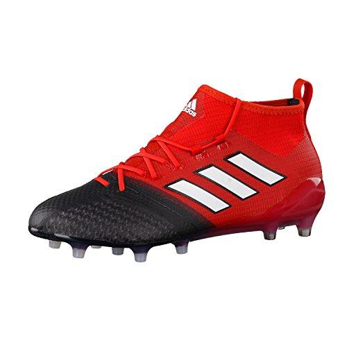 adidas Ace 17.1 Primeknit FG, Scarpe per Allenamento Calcio Uomo, Rosso (Rojo/Ftwbla/Negbas), 42 EU