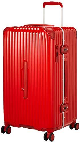 [カーゴ] スーツケース グッドサイズ スリムフレーム 多機能モデル CAT78SSR 保証付 78L 71 cm 5.7kg ブライトレッド