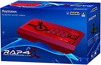 HORI Real Arcade Pro 4 Kai (Red) for PlayStation 4, PlayStation 3, and PC - PlayStation 4