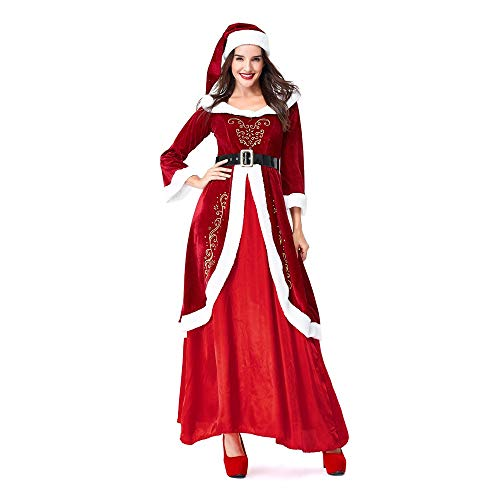 Best Buy! youeneom Women Men Christmas Legendary Red Jacket Top Coat Cosplay Costumes Outfit Duseedi...