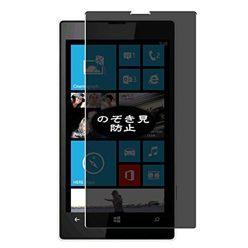 VacFun Pellicola Privacy Compatibile con Nokia Lumia 520, Screen Protector Protective Film Senza Bolle e Antispy (Non Vetro Temperato) Filtro Privacy New Version