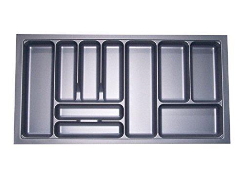 Besteckeinsatz Orga-Box I Besteckkasten 917 x 474 mm für Blum Tandembox + ModernBox im 100er Schrank