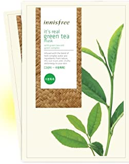 Innisfree It's Real Green tea Mask Sheet x 7 sheets