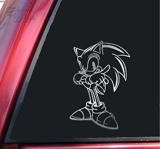 ShadowMajik Sonic The Hedgehog Shiny Chrome Vinyl Decal Sticker
