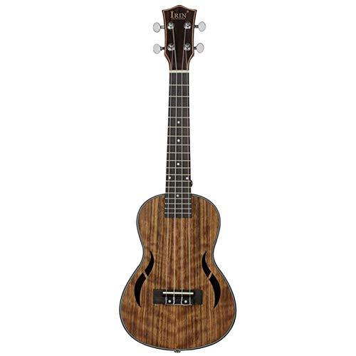Guitarra Eléctrica 23 Pulgadas 4 Cuerdas De Madera Concierto De Madera Ukelele...