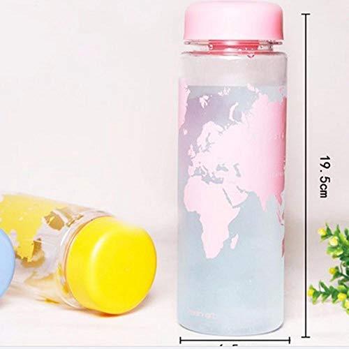 ppting World Series of Map Draagbare Plastic Waterflessen 500ml