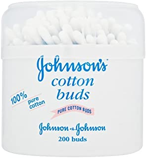 Johnson Baby Cotton Buds - Pack of 3, Total of 600 Buds by Johnson's Baby