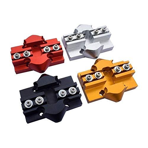 HUANRUOBAIHUO Delta Alluminio 1pc Scorrere M3 / M4 Tackle Effector del Carrello for Stampante 3D Parti della Stampante 3D (Color : Silver, Size : M3)