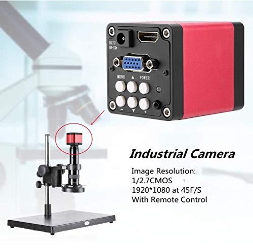 Digitale Mikroskopkamera Mikroskop Kamera,KP-200D Digital Industry Microscope Camera 13MP 60F / S Schwarz HDMI VGA Ausgang Industrie Mikroskop Kamera EU Stecker 220V