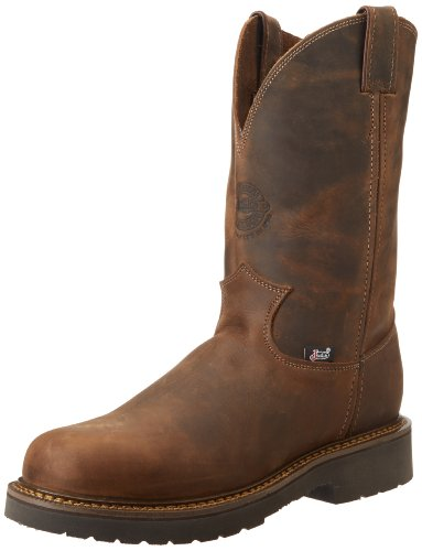 Justin Original Work Boots U.S.A. Men's J-Max 11' Pull-On Boot,Rugged Bay Gaucho,9 D US