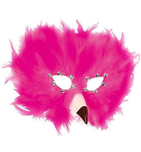 Unbekannt Feder Maske Flamingo Venezianischer Karneval