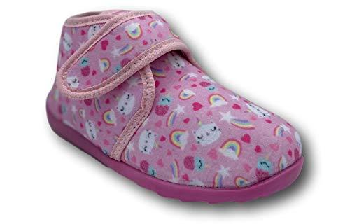 Silken Kinder Hohe Hausschuhe für Mädchen - Fester und sicherer Stand mit...