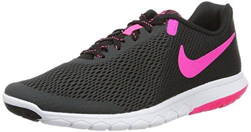 Nike Damen Flex Experience RN 5 Laufschuhe, Grau (Anthracite/pink Blast/Black/White), 41 EU