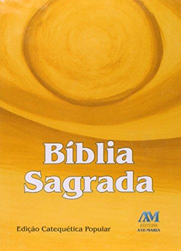 Bíblia Sagrada: Edição Catequética Popular - Média