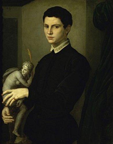 Portrait of a Sculptor Agnolo Bronzino (1503-1572Italian) Musee du Louvre Paris Poster Print (24 x 36)