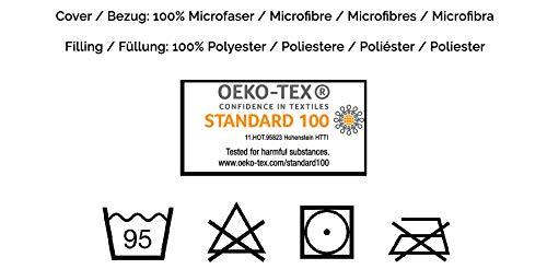 ZOLLNER Stillkissen Seitenschläferkissen 40x145 cm (weitere verfügbar), waschbar
