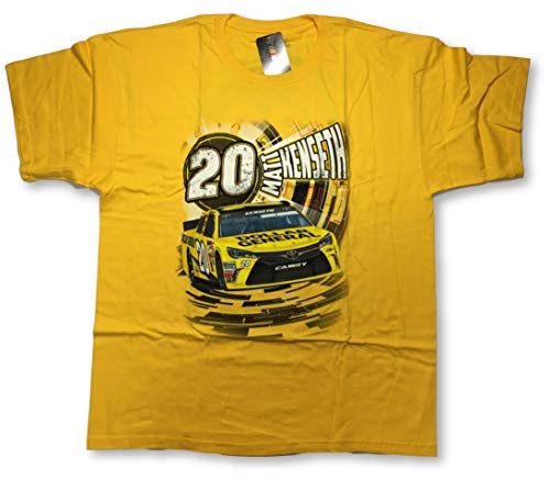 Checkered Flag NASCAR Matt Kenseth Dollar General #20 Speedbolt Adult T-Shirt (X-Large)