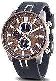 Duward aquastar Suzuka Reloj para Hombre Analógico de Automático japonés con Brazalete de Silicona D85524.60