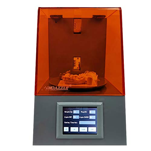 3D Printer,Multifunction UV Cure Box For Jewelry Models And Dental Models Drying Models Of DLP SLA LCD 3D Printer