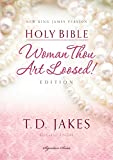 NKJV, Woman Thou Art Loosed, Hardcover, Red Letter: Holy Bible, New King James Version