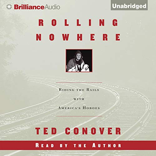 Rolling Nowhere audiobook cover art