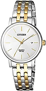 Citizen Analog White Dial Women's Watch-EU6094-53A