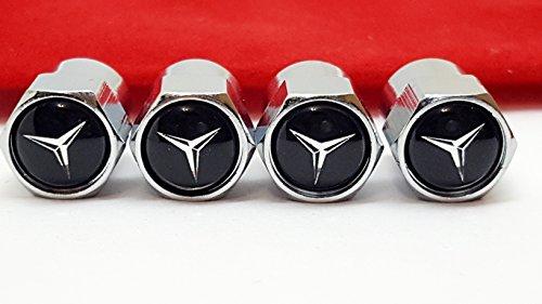 c2cTC Mercedes Benz auto-logo luchtventiel banden wieldoppen