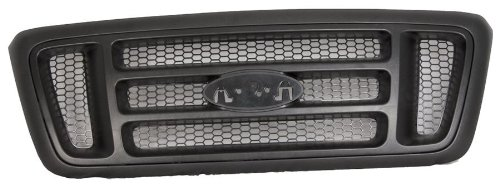 Sherman Replacement Part Compatible with Ford F-150 Grille Assembly (Partslink Number FO1200465)