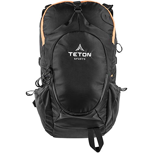 TETON Sports Rock 1800 Backpack; Lightweight Daypack; Hiking Backpack for Camping, Hunting, Travel, and Outdoor Sports; Sewn-in Rain Cover; Be Prepared for Those Unplanned Trips