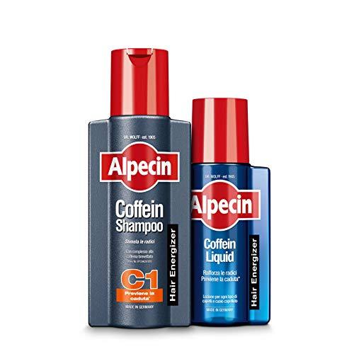 Alpecin Coffein Shampoo C1, 250 ml + Alpecin Coffein Liquid, 200 ml -