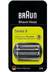 Braun Series 3 21B,Vervangstuk Scheerapparaat, Series 3 Scheerapparaten, Zwart